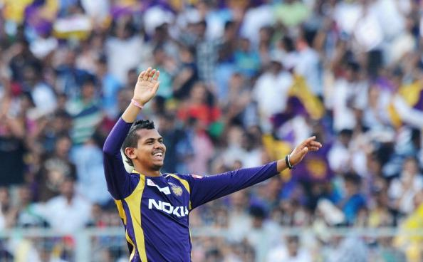 Kolkata Knight Riders bowler Sunil Narin : News Photo
