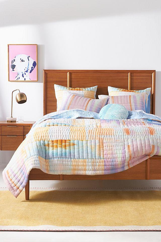 """<h2>Anthropologie Nadina Quilt</h2><br>While this stunning Anthropologie quilt (an oft-purchased category for R29 readers) is <a href=""""https://www.refinery29.com/en-us/anthropologie-sale-fresh-cuts"""" rel=""""nofollow noopener"""" target=""""_blank"""" data-ylk=""""slk:no longer on sale"""" class=""""link rapid-noclick-resp"""">no longer on sale</a>, its brilliant handcrafted cotton exterior and cloud-like cotton-filled interior are still worth admiring. Besides, who knows when the retailer's next big promo is going to strike...better get your bookmark tabs primed.<br><br><em>Shop <strong><a href=""""https://www.anthropologie.com/shop/nadina-quilt"""" rel=""""nofollow noopener"""" target=""""_blank"""" data-ylk=""""slk:Anthropologie"""" class=""""link rapid-noclick-resp"""">Anthropologie</a></strong></em><br><br><strong>Anthropologie</strong> Nadina Quilt, $, available at <a href=""""https://go.skimresources.com/?id=30283X879131&url=https%3A%2F%2Fwww.anthropologie.com%2Fshop%2Fnadina-quilt"""" rel=""""nofollow noopener"""" target=""""_blank"""" data-ylk=""""slk:Anthropologie"""" class=""""link rapid-noclick-resp"""">Anthropologie</a>"""