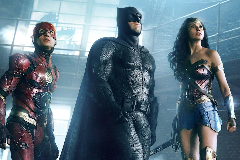 Flash, Batman, and Wonder Woman in Justice League (Credit: Warner Bros)