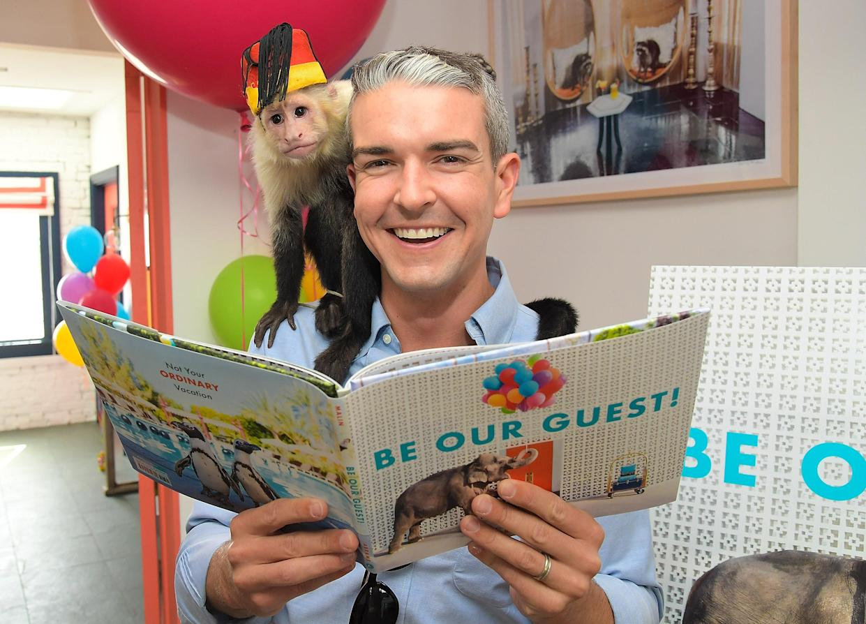 WEST HOLLYWOOD, CA - MAY 04:  Author and photographer Gray Malin attends Gray Malin and Elizabeth Chambers celebrate Gray Malin's First Children's Book,