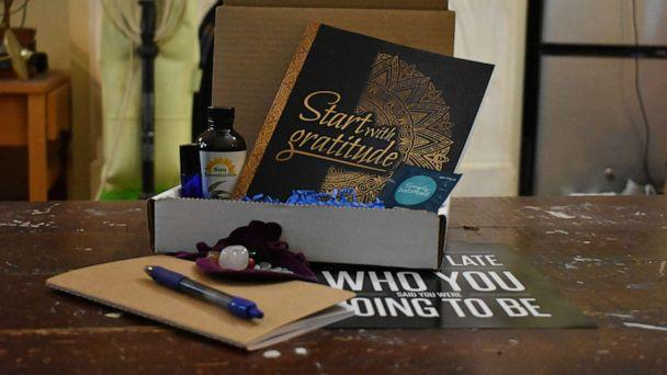 PHOTO: Four Marquette University college students launched a business creating self-care boxes for students. (Kyra Ochsner)