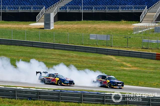 "Show de Red Bull Drift Brothers <span class=""copyright"">Mark Sutton / Motorsport Images</span>"
