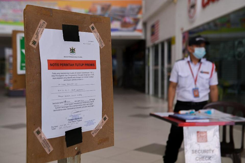Malls are closed from May 9-11 as part of HIDE requirement during MCO 3.0 at GM Klang Wholesale City May 9, 2021. — Picture by Miera Zulyana