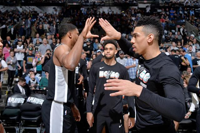 Rudy Gay and Danny Green both know first-hand what makes Spurs bench boss Gregg Popovich a different breed of coach. (Getty)