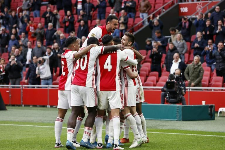 Ajax have picked up 42 points out of 48 since the turn of the year