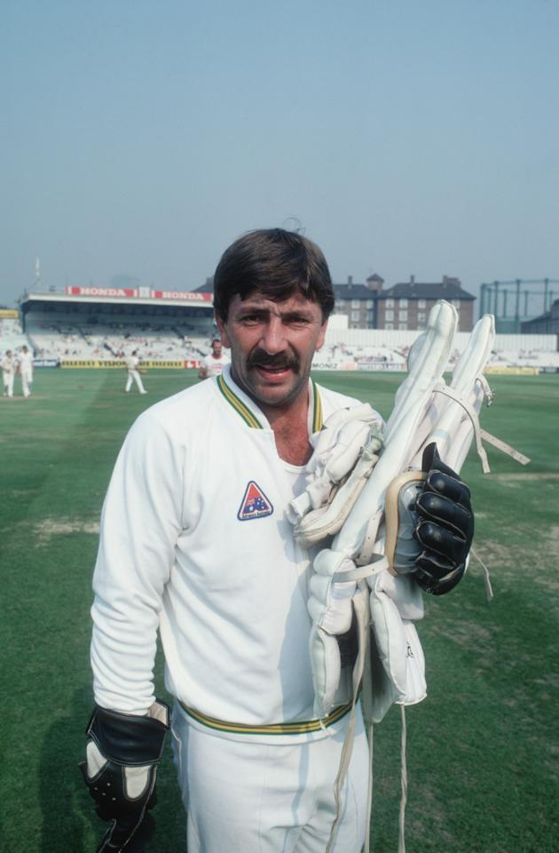 Australian wicketkeeper Rod Marsh at the Oval, London, September 1981. (Photo by Adrian Murrell/Getty Images)