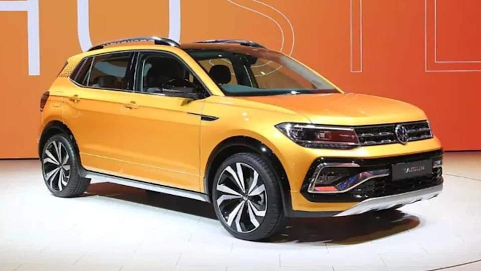 Prior to launch, Volkswagen Taigun GT spotted at dealership