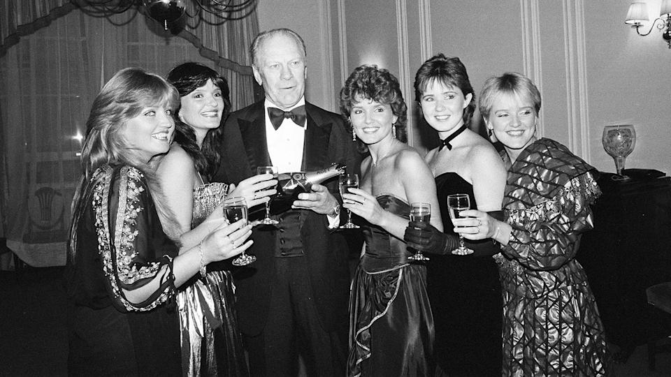 The Nolans were so famous they toured with Frank Sinatra and met ex-president Gerald Ford (Getty)
