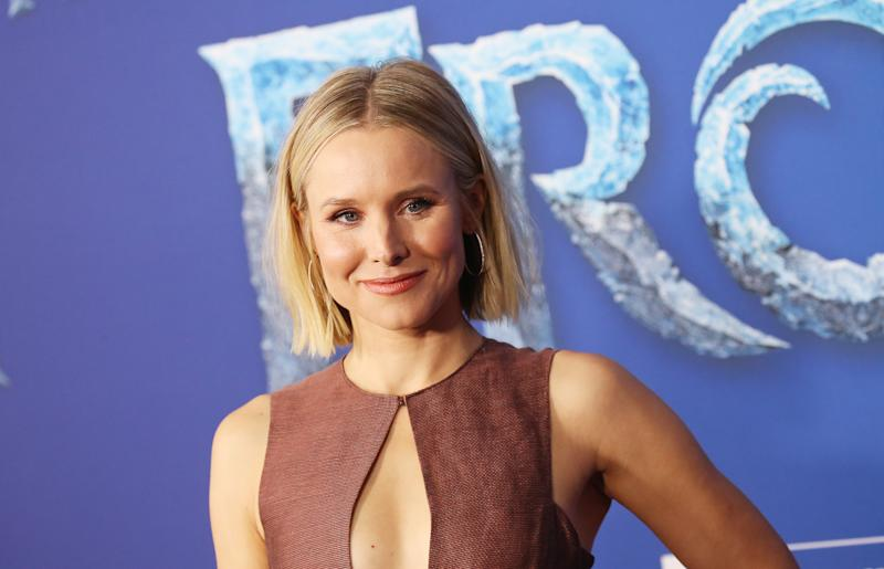 "Kristen Bell na première mundial de ""Frozen 2"", no Dolby Theatre, em Hollywood. Foto: Getty Images"