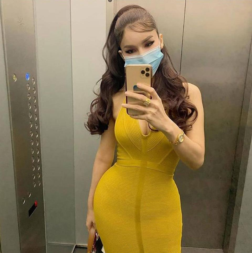 Nur Sajat, 35, who published a video in which can be heard saying that she will leave Islam. Source: Newsflash/Australscope