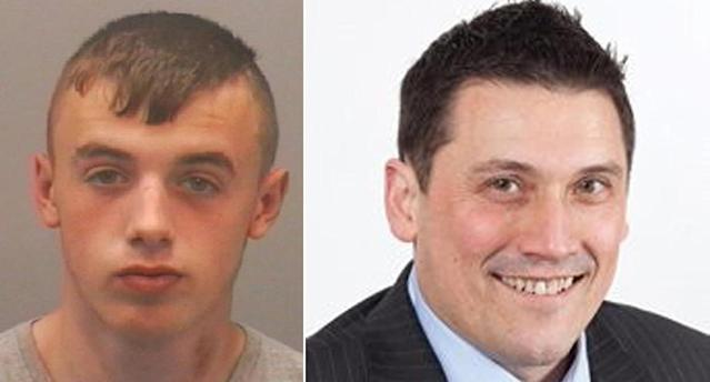 Ewan Ireland was just 17 when he attacked Peter Duncan, 52 (PA)