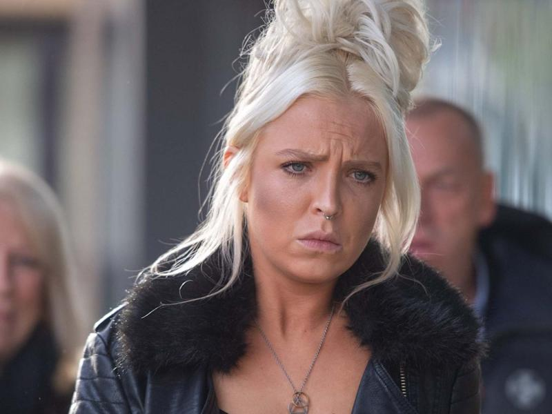 Chloe Haines, pictured outside Chelmsford Magistrates' Court in November: PA