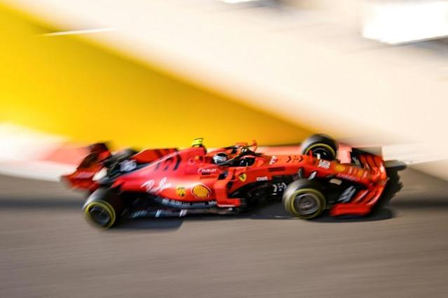 Leclerc completes first season with Ferrari on second row in Abu Dhabi (AFP Photo/ANDREJ ISAKOVIC)