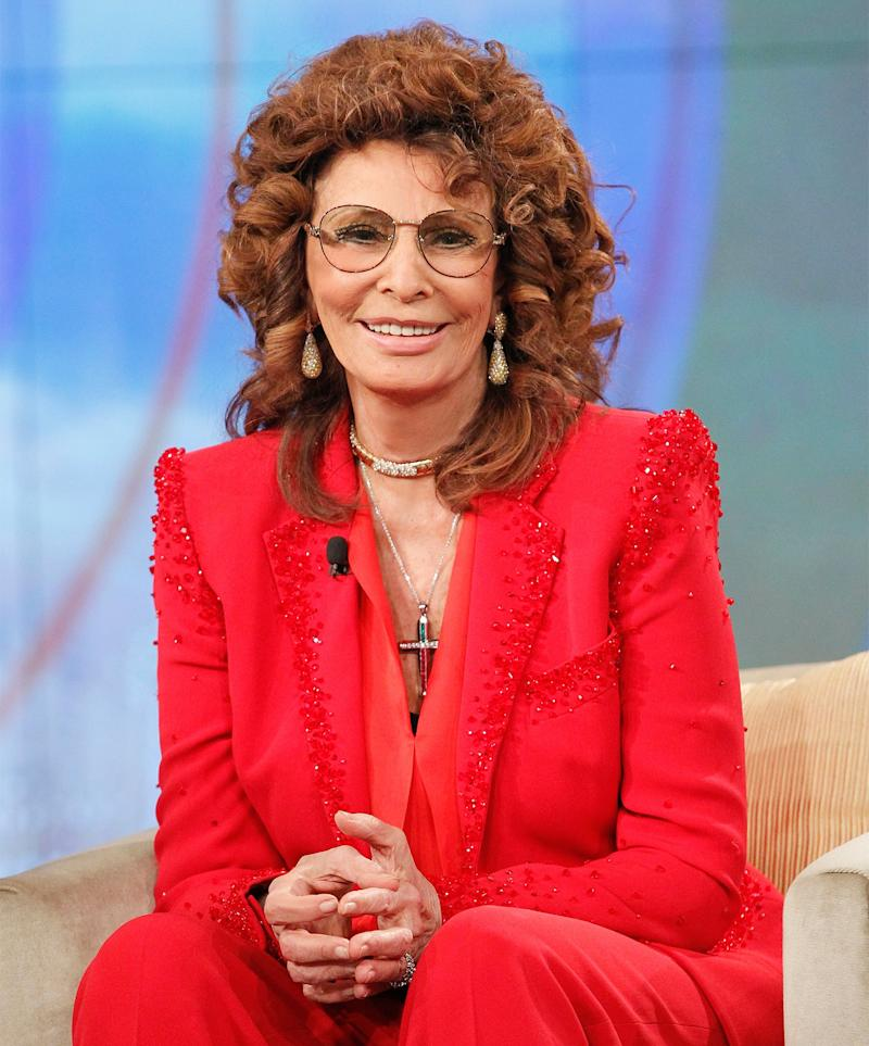 Sophia Loren Returning to the Big Screen for First Time in a Decade in Movie By Her Son
