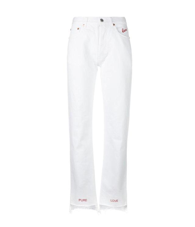 "<p>Embroidered Lovers Jeans, $238,<a href=""https://www.farfetch.com/shopping/women/forte-couture-embroidered-lovers-jeans-item-12065077.aspx?storeid=9672&from=search_listing&tglmdl=1&ffref=lp_pic_65_8_"" rel=""nofollow noopener"" target=""_blank"" data-ylk=""slk:farfetch.com"" class=""link rapid-noclick-resp""> farfetch.com</a> </p>"