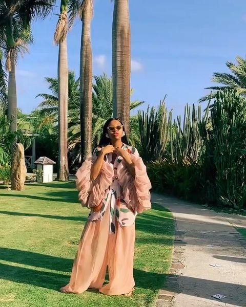 """<p>Founded by womenswear designer, Felisha """"Fe"""" Noel. The namesake clothing label is deeply influenced by the designers Caribbean heritage, and each piece is a glimpse of the culture and glamour of the West Indies. If that doesn't get you excited for Summer or a beach vacation, I don't know what will!</p><p><a href=""""https://www.instagram.com/p/CLxBKmwlTHz/"""" rel=""""nofollow noopener"""" target=""""_blank"""" data-ylk=""""slk:See the original post on Instagram"""" class=""""link rapid-noclick-resp"""">See the original post on Instagram</a></p>"""