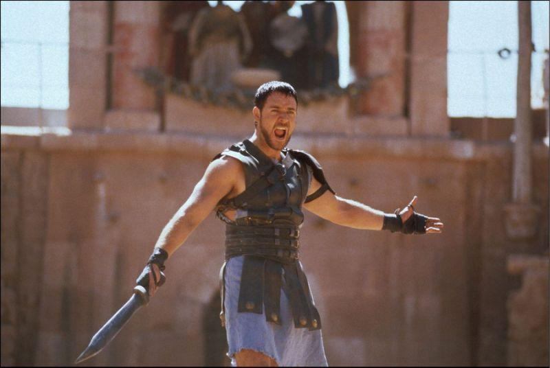 Russell Crowe in 'Gladiator' (DreamWorks)