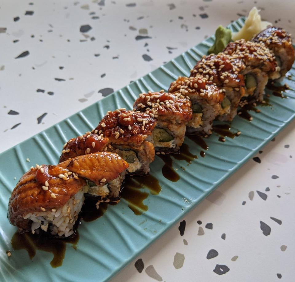 Supreme Unagi Roll ($18)