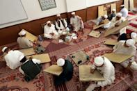 Students at the Asmariya zawiya come from all corners of the Islamic world to study the Sufi tradition, which has a long history in North Africa