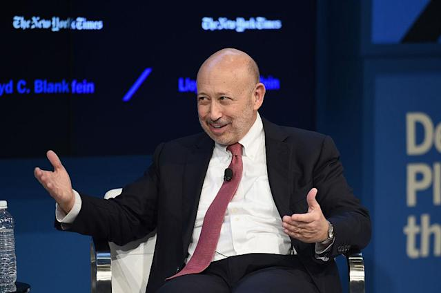 <p>No. 1: Harvard University<br>Known UHNW alumni: 1,906<br>Combined wealth: $811 billion<br>Former grad and CEO of The Goldman Sachs Group, Inc. Lloyd C. Blankfein is seen here. (Photo by Bryan Bedder/Getty Images for The New York Times ) </p>