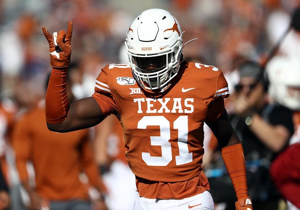 Texas linebacker DeMarvion Overshown announced Thursday that he is sitting out all team activities in protest.