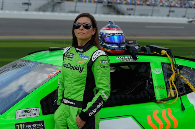 Danica Patrick's career as a female racecar driver has been overshadowed by her love life. (Photo: Getty Images)