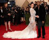 <p>The entrepreneur wore Roberto Cavalli for the 2015 Met Gala, where the theme was 'China: Through The Looking Glass'.</p>