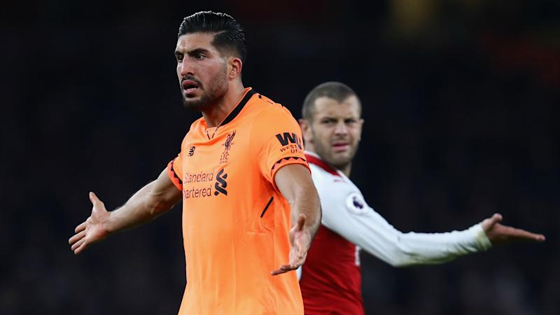 Emre Can Arsenal Liverpool Premier League 12222017