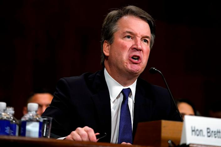 Brett Kavanaugh is on his way to the Supreme Court, despite public allegations of sexual assault or misconduct by three women. (Photo: ANDREW HARNIK via Getty Images)