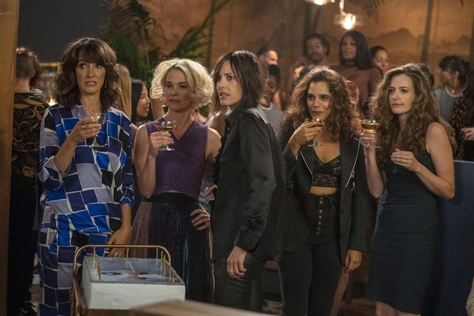 <p>The highly anticipated return of <em>The L Word</em> did not disappoint. Set more than a decade after the original series ended, several familiar faces returned for round two, along with some new characters who are shaking things up in the Silver Lake neighborhood of L.A. Now that this has proven successful, perhaps the powers that be will reboot <em>Queer as Folk</em> next.</p>