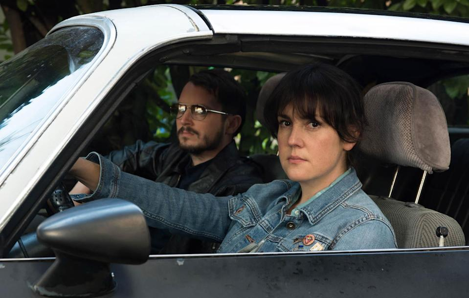 <p>In this fantastically entertaining crime film, Ruth, the fed-up nursing assistant played by Melanie Lynskey, enlists her reclusive, martial-arts-obsessed neighbor (Elijah Wood) to help her track down the thieves who stole a family heirloom. Her goal isn't revenge; rather, she's seeking evidence that a shred of human decency is left in the world. In 2017, who can't relate? Inevitably, events spiral out of control, and first-time director Macon Blair self-assuredly steers his characters into a bloody, absurd journey that brings them something like redemption. <em>— G.W. </em>(Photo: Netflix) </p>