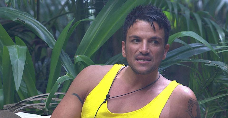 Peter Andre first entered the jungle in 2004 (REX).
