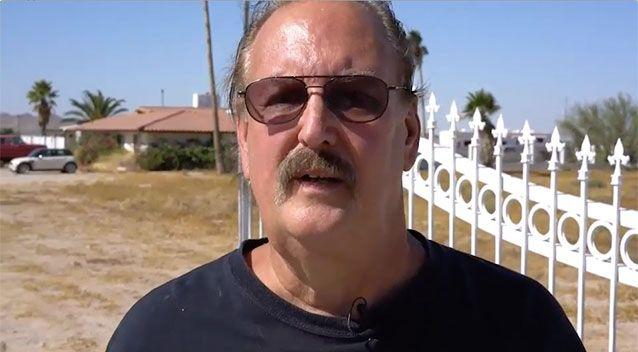 John Edmonds says he and his wife are fed up with alien attacks at his ranch and want to move on. Picture: Global News