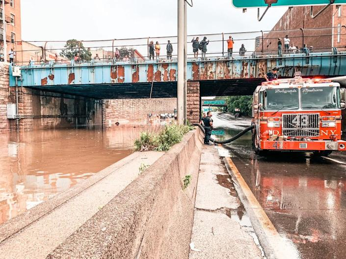 Flooding in NYC