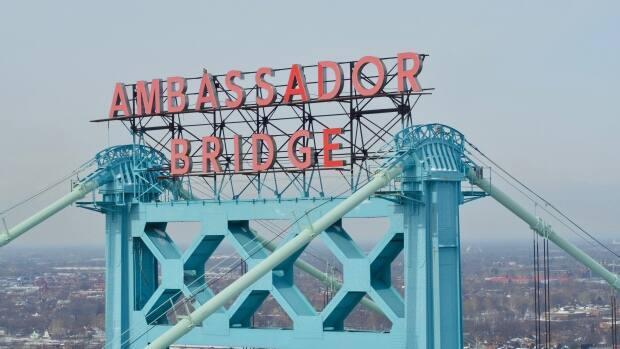 Ungurenasu makes reference to the bright Ambassador Bridge sign in their poem South of Detroit.