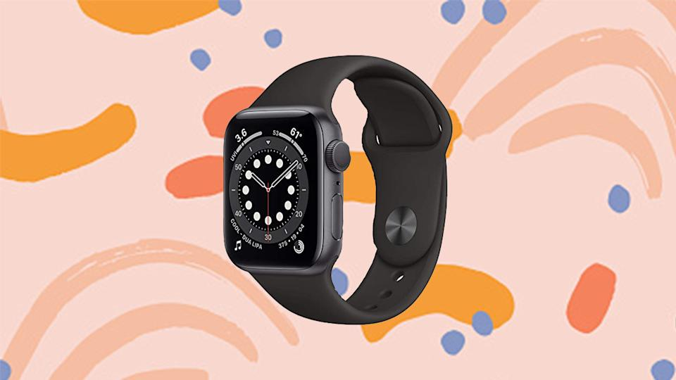 Apple's newest watch is discounted at Amazon.