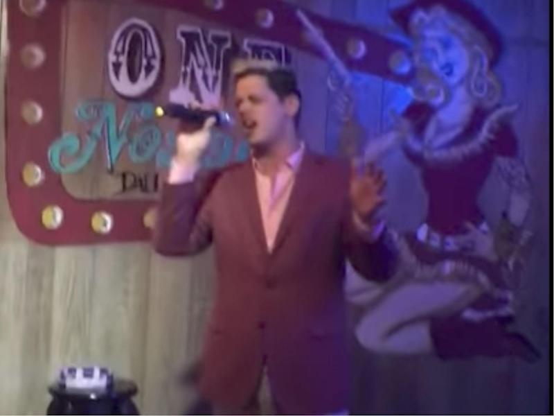 Mr Yiannopoulos has been filmed singing a patriotic song while white nationalists give the Nazi salute: Buzzfeed