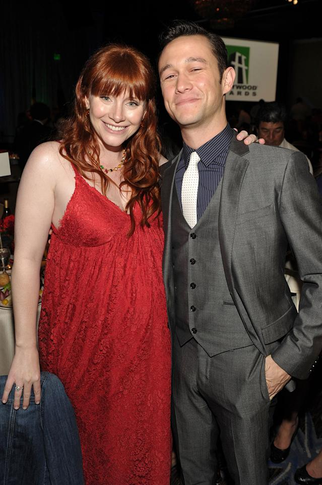 "<a href=""http://movies.yahoo.com/movie/contributor/1808534469"">Bryce Dallas Howard</a> and <a href=""http://movies.yahoo.com/movie/contributor/1800018554"">Joseph Gordon-Levitt</a> at the 15th Annual Hollywood Film Awards in Beverly Hills, California on October 24, 2011."