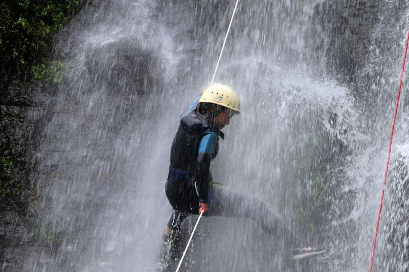 Cos'è il canyoning