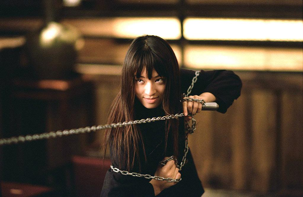 "<b>GoGo Yubari:</b><br>The Bride (Uma Thurman) battled many in""<a href=""http://movies.yahoo.com/movie/kill-bill-vol-1/"">Kill Bill</a>"" (2003), including this Japanese schoolgirl (Chiaki Kuriyama, who also starred in ""<a href=""http://movies.yahoo.com/movie/battle-royale-japan/"">Battle Royale</a>,"" the 2000 cult classic in which the government forces ninth-graders to battle to the death). Japanese schoolgirls for years had symbolized the geek's It Girl -- a trendsetter in <a href=""http://gizmodo.com/5609205/how-japanese-schoolgirls-started-a-mobile-phone-revolution"">tech</a>, <a href=""http://en.wikipedia.org/wiki/Kawaii"">cutesiness</a>, and <a href=""http://www.sailormoon.com/"">anime girl power</a>. GoGo emerged at the tail end of their reign, but right when older Japanese women were forging their social <a href=""http://www.economist.com/node/21526350"">independence</a>."
