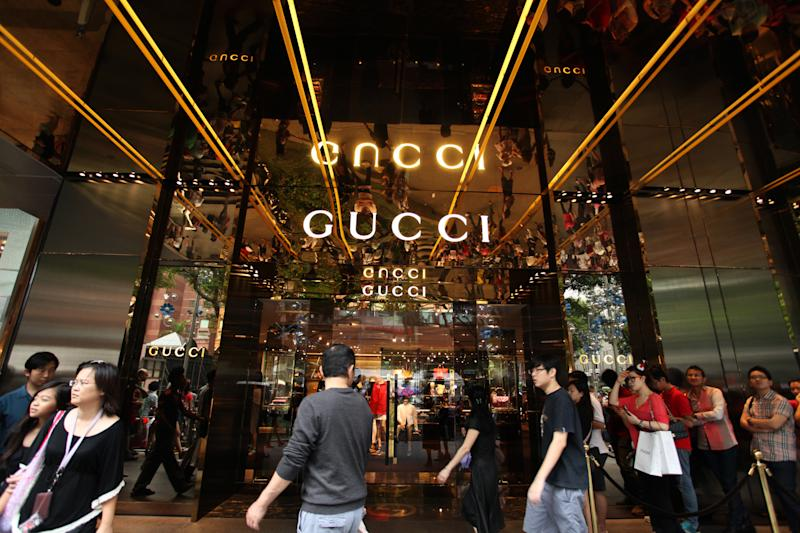 The Gucci store at Paragon along Orchard Road. (Photo: Getty Images)