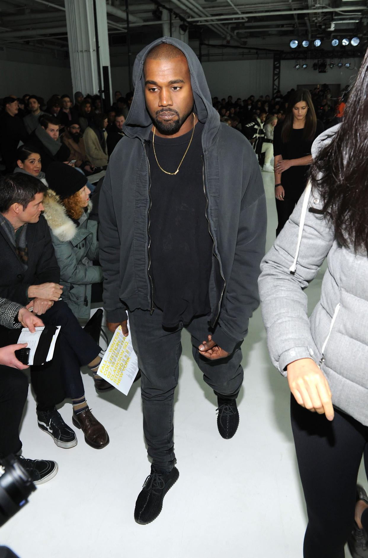 At theJohn Elliott & CO fashion show at Skylight Clarkson SQ. on February 13 in New York City.