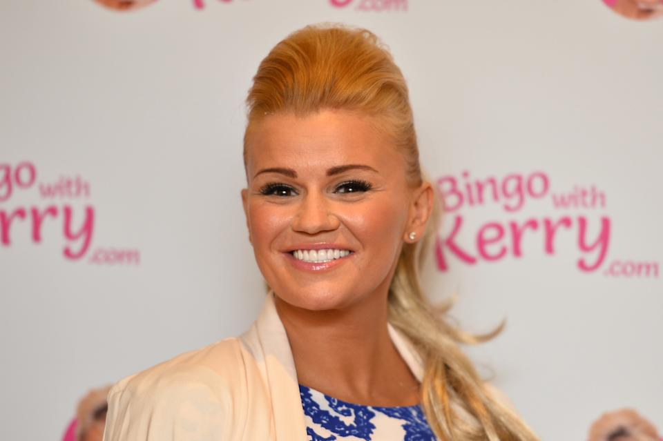 Kerry Katona during a photocall for Bingo with Kerry, at the Covent Garden Hotel in London.