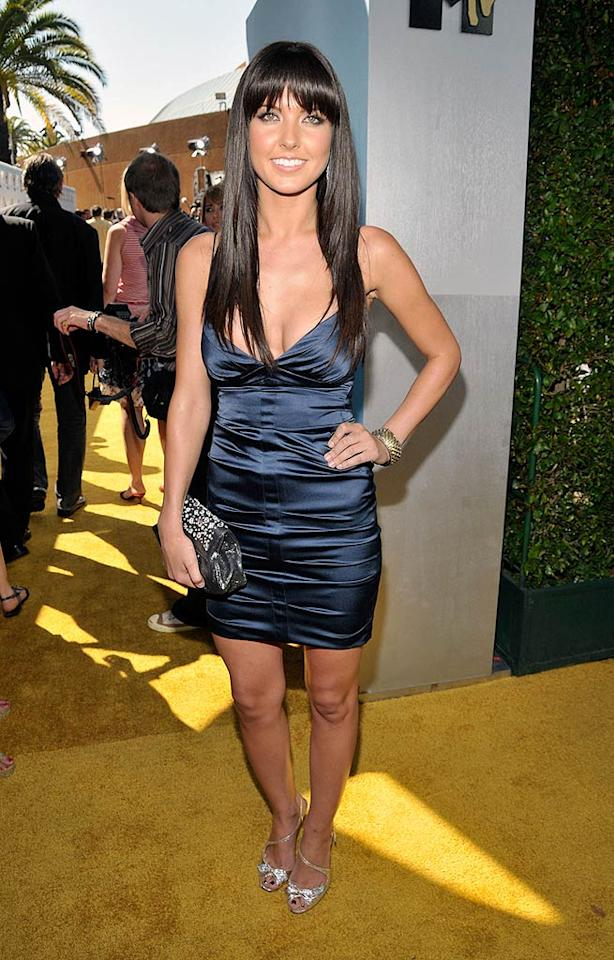 """Reality star Audrina Patridge favors a darker shade of blue. Frank Micelotta/<a href=""""http://www.gettyimages.com/"""" target=""""new"""">GettyImages.com</a> - June 1, 2008"""