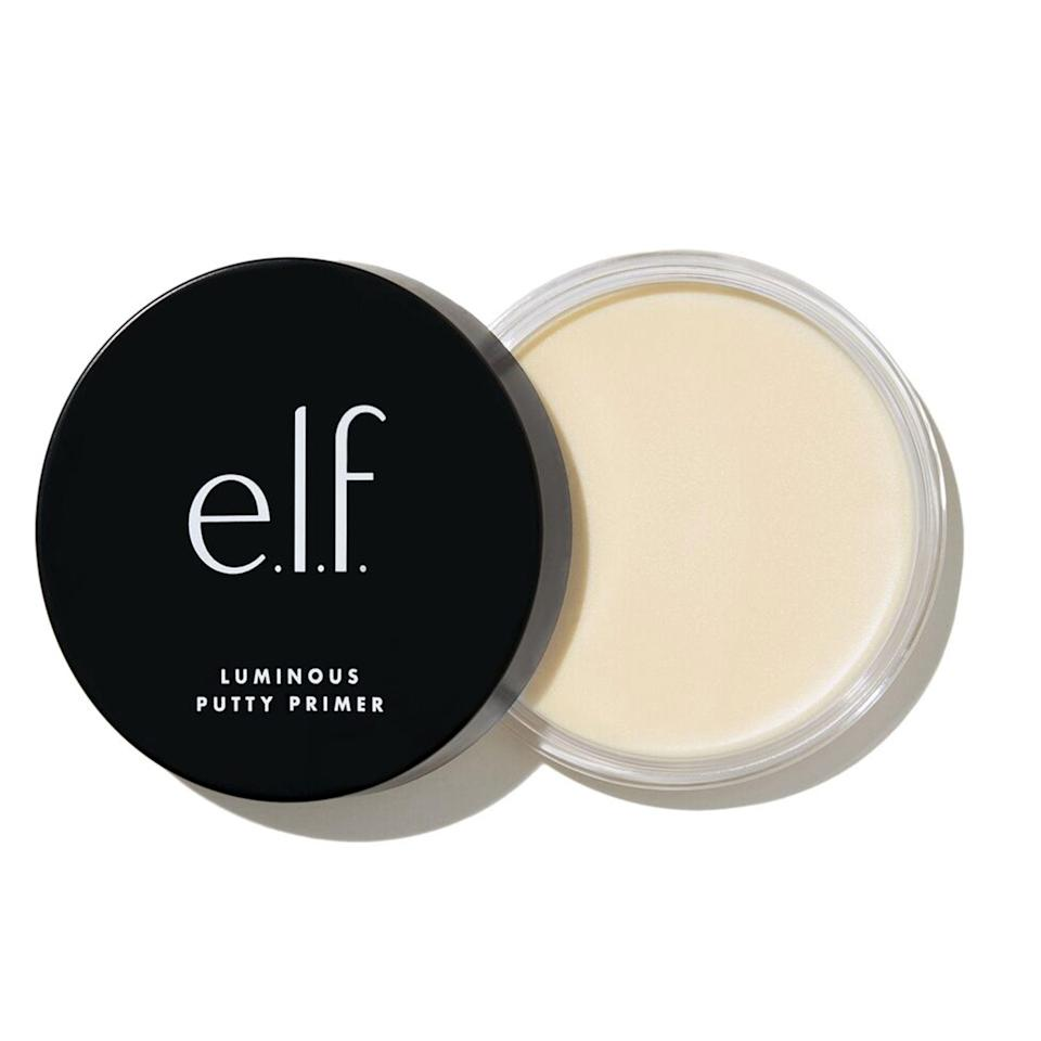 "<p>Unlike the original version, E.L.F.'s Luminous Poreless Putty Primer leaves the skin with a subtle dewy finish that looks beautiful whether you choose to wear it alone, or under makeup. So if you want to minimize the appearance of your pores <em>and</em> get a radiant glow, look no further than this guy.</p> <p><strong>$8</strong> (<a href=""https://www.elfcosmetics.com/luminous-putty-primer/85910.html?cgid=face-face-primer#start=3"" rel=""nofollow noopener"" target=""_blank"" data-ylk=""slk:Shop Now"" class=""link rapid-noclick-resp"">Shop Now</a></p>"