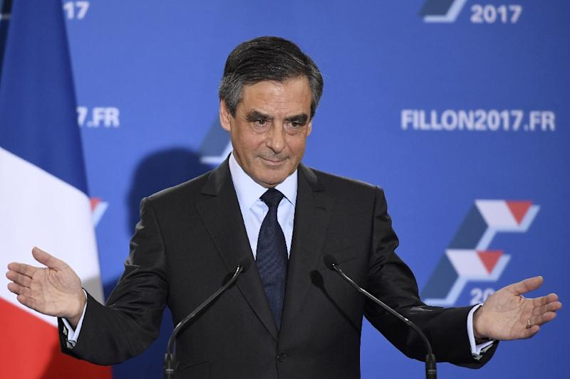 "Francois Fillon has promised to reduce immigration to a ""strict minimum"" (AFP Photo/Eric Feferberg)"