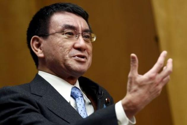 Japan's Taro Kono to be foreign minister in cabinet reshuffle: Kyodo