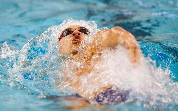 Canada's Markus Thormeyer claims gold at the FINA Champions Swim Series
