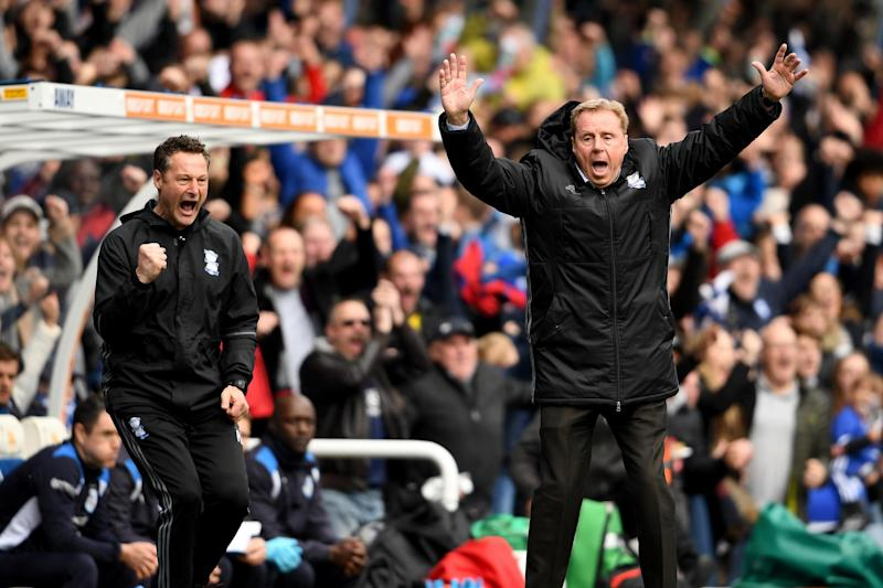 Joy for Redknapp as Birmingham win: Getty Images