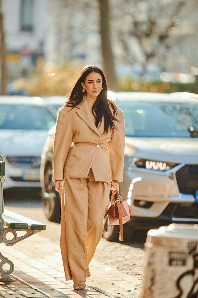 <p>Beige was back in a big way in 2019 and that looks set to continue into the new decade. Embrace the calming hue by wearing it top-to-toe. </p>